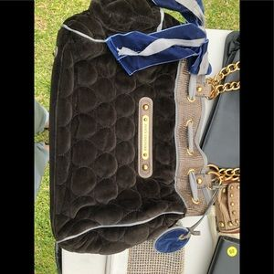 Juicy Black and blue bag